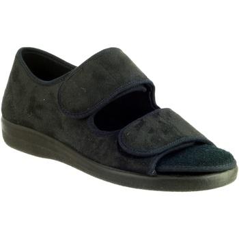 Scarpe Donna Pantofole Gbs BROMPTON ( MED) Nero