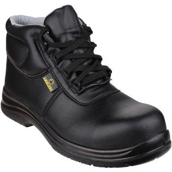Scarpe Uomo Scarpe antinfortunistiche Amblers FS663 Safety ESD Boots Nero