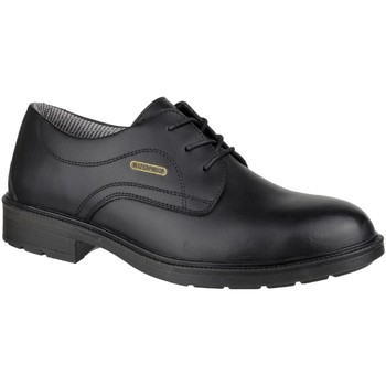 Scarpe Uomo Derby Amblers FS62 Waterproof Safety Shoes Nero