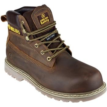 Scarpe Uomo Scarpe antinfortunistiche Amblers FS164 Safety Boots Marrone