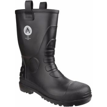 Scarpe Stivali da pioggia Amblers  Nero