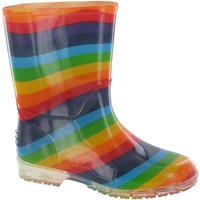 Scarpe Bambina Stivali da pioggia Cotswold PVC KIDS RAINBOW Multicolore