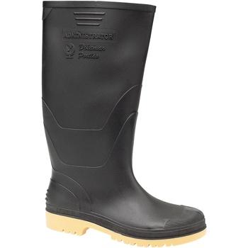 Scarpe Uomo Stivali da pioggia Dikamar Administrator Wellington Nero