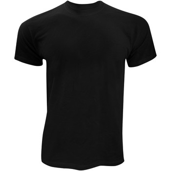 Abbigliamento Uomo T-shirt maniche corte Fruit Of The Loom SS12 Nero