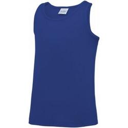 Abbigliamento Unisex bambino Top / T-shirt senza maniche Awdis JC007B Blu reale