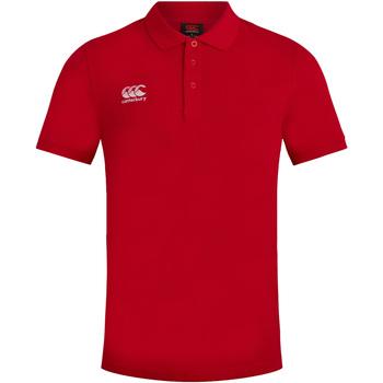 Abbigliamento Uomo Polo maniche corte Canterbury CN220 Rosso