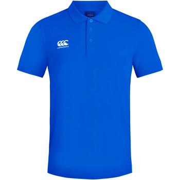Abbigliamento Uomo Polo maniche corte Canterbury CN220 Blu reale