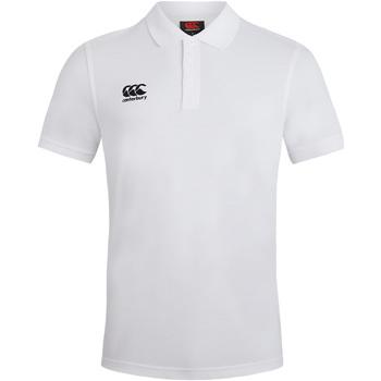 Abbigliamento Uomo Polo maniche corte Canterbury CN220 Bianco