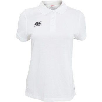 Abbigliamento Donna Polo maniche corte Canterbury CN220F Bianco