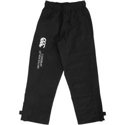 Abbigliamento Unisex bambino Pantaloni da tuta Canterbury CN250B Nero