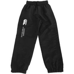 Abbigliamento Unisex bambino Pantaloni da tuta Canterbury CN251B Nero