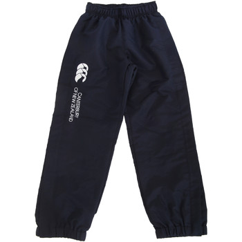 Abbigliamento Unisex bambino Pantaloni da tuta Canterbury CN251B Blu navy