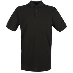 Abbigliamento Uomo Polo maniche corte Henbury HB101 Nero