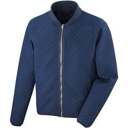 Abbigliamento Uomo Giubbotti Result RS405M Blu navy