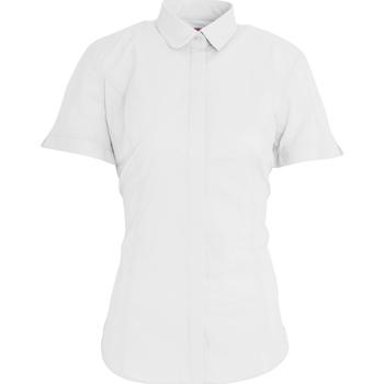 Abbigliamento Donna Camicie Brook Taverner BK133 Bianco