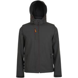 Abbigliamento Uomo giacca a vento Sols 01647 Carbone