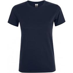 Abbigliamento Donna T-shirt maniche corte Sols Regent Blu navy