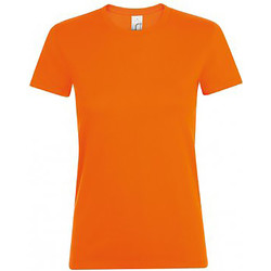 Abbigliamento Donna T-shirt maniche corte Sols Regent Arancio
