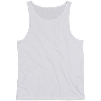 Abbigliamento Top / T-shirt senza maniche Mantis M133 Bianco