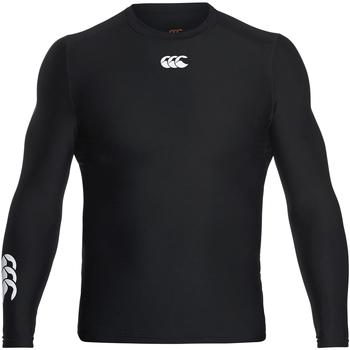Abbigliamento Uomo T-shirts a maniche lunghe Canterbury CN360 Nero