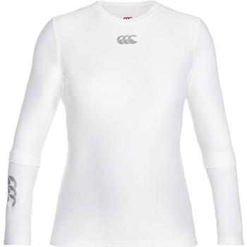 Abbigliamento Uomo T-shirts a maniche lunghe Canterbury CN360 Bianco