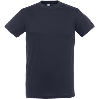 Abbigliamento Uomo T-shirt maniche corte Sols 11380 Blu navy