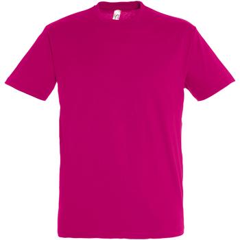 Abbigliamento Uomo T-shirt maniche corte Sols 11380 Fucsia