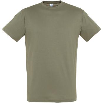 Abbigliamento Uomo T-shirt maniche corte Sols 11380 Kaki