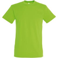 Abbigliamento Uomo T-shirt maniche corte Sols 11380 Verde lime