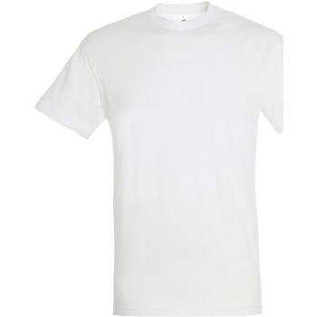 Abbigliamento Uomo T-shirt maniche corte Sols 11380 Bianco