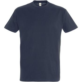 Abbigliamento Uomo T-shirt maniche corte Sols 11500 Blu Navy