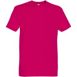 Abbigliamento Uomo T-shirt maniche corte Sols 11500 Fucsia