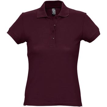 Abbigliamento Donna Polo maniche corte Sols 11338 Bordeaux