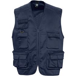 Abbigliamento Uomo Gilet / Cardigan Sols 43630 Blu navy