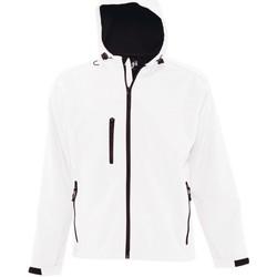 Abbigliamento Uomo giacca a vento Sols 46602 Bianco