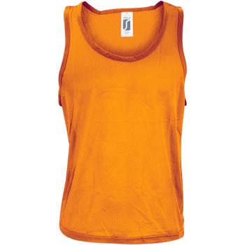 Abbigliamento Uomo Top / T-shirt senza maniche Sols Anfield Arancio