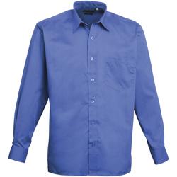 Abbigliamento Uomo Camicie maniche lunghe Premier PR200 Blu reale