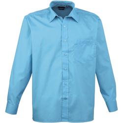 Abbigliamento Uomo Camicie maniche lunghe Premier PR200 Turchese