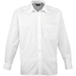 Abbigliamento Uomo Camicie maniche lunghe Premier PR200 Bianco
