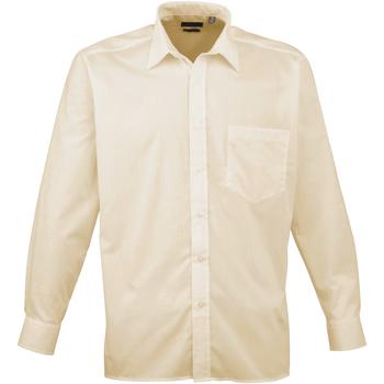 Abbigliamento Uomo Camicie maniche lunghe Premier PR200 Naturale