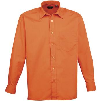 Abbigliamento Uomo Camicie maniche lunghe Premier PR200 Arancio