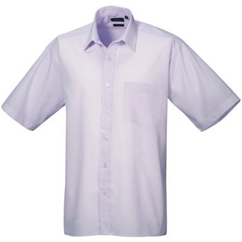 Abbigliamento Uomo Camicie maniche corte Premier PR202 Lilla