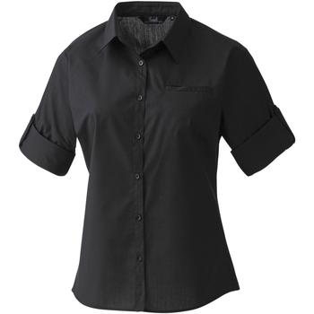 Abbigliamento Donna Camicie Premier PR306 Nero