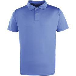 Abbigliamento Polo maniche corte Premier PR612 Blu reale