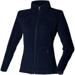 Abbigliamento Donna Felpe in pile Skinni Fit SK028 Blu navy