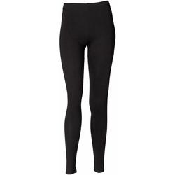 Abbigliamento Donna Leggings Skinni Fit SK064 Nero