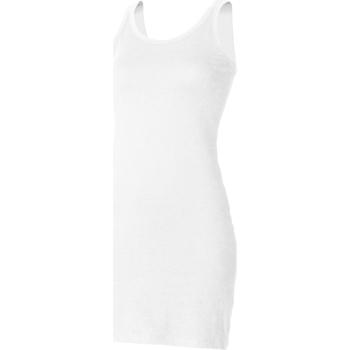 Abbigliamento Donna Top / T-shirt senza maniche Skinni Fit SK104 Bianco