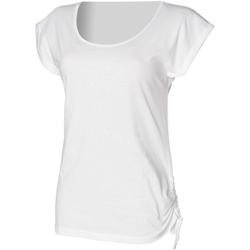 Abbigliamento Donna T-shirt maniche corte Skinni Fit Slounge Bianco