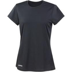 Abbigliamento Donna T-shirt maniche corte Spiro S253F Nero