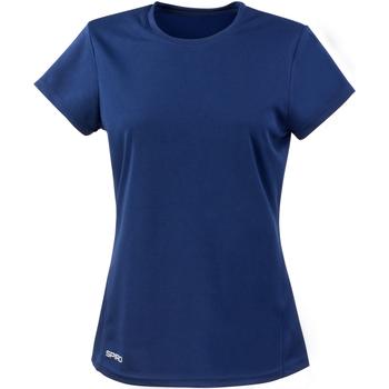 Abbigliamento Donna T-shirt maniche corte Spiro S253F Blu navy